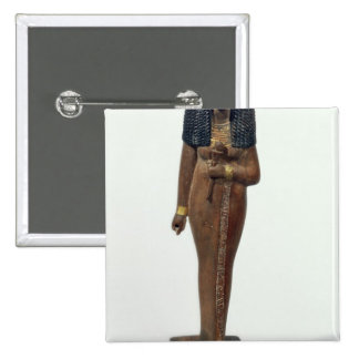 Statue of the Lady Nay, New Kingdom 2 Inch Square Button