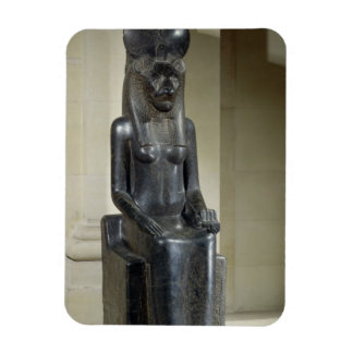 Statue of the lion-headed goddess Sekhmet, from th Magnet