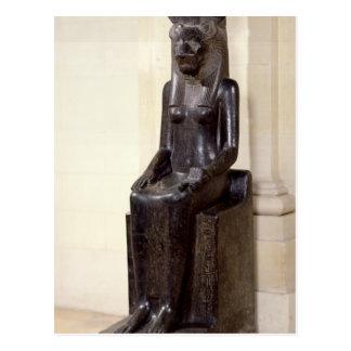 Statue of the lion-headed goddess Sekhmet Postcard