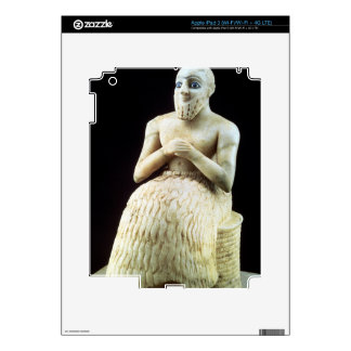 Statue of the official Ebih-Il, from the Temple of Decal For iPad 3