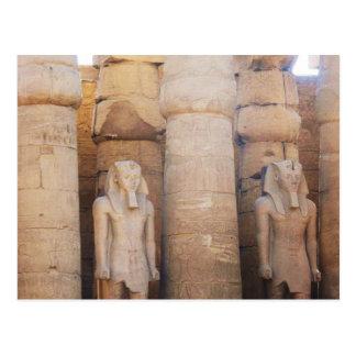 Statue of the Pharaoh Ramses II, Luxor Temple Postcard