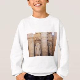 Statue of the Pharaoh Ramses II, Luxor Temple Sweatshirt