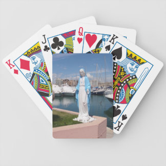 Statue Of the Virgin mary Bicycle Playing Cards
