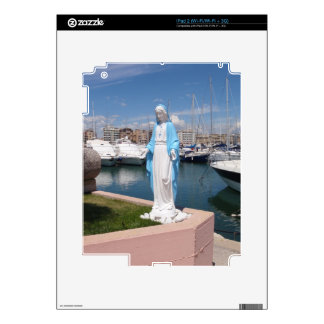 Statue Of the Virgin mary iPad 2 Skin