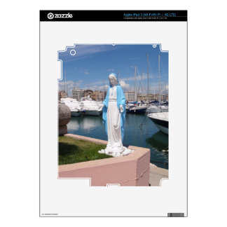 Statue Of the Virgin mary iPad 3 Skin