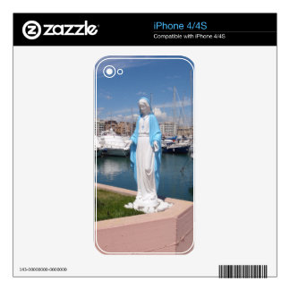 Statue Of the Virgin mary iPhone 4S Skin