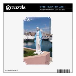 Statue Of the Virgin mary iPod Touch 4G Decal