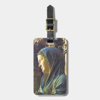 Statue of the Virgin Mary Travel Bag Tag
