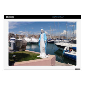 """Statue Of the Virgin mary Skin For 17"""" Laptop"""