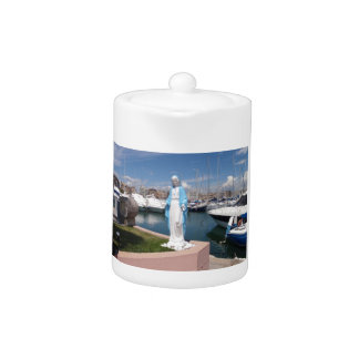 Statue Of the Virgin mary Teapot