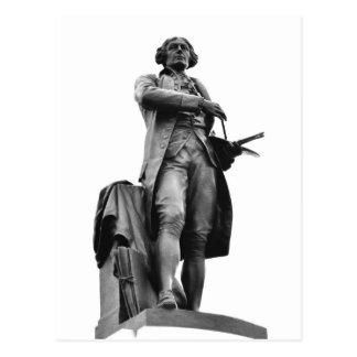 Statue of Thomas Gainsborough Postcard