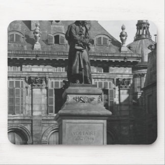 Statue of Voltaire Mouse Pad