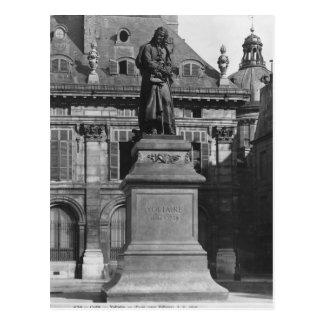 Statue of Voltaire Postcard