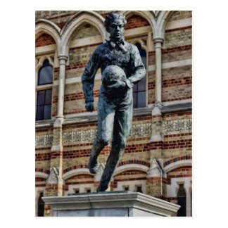 Statue of William Webb Ellis Postcard