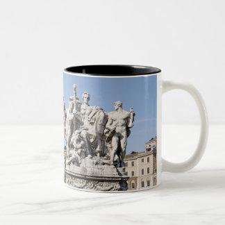Statue on Ponte Vittorio Emanuele II, Rome, Mug