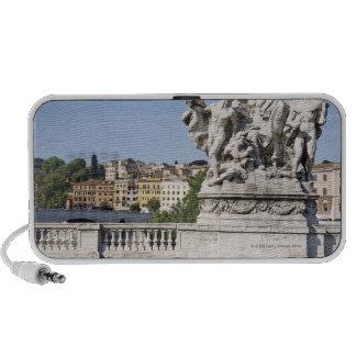 Statue on Ponte Vittorio Emanuele II, Rome, PC Speakers