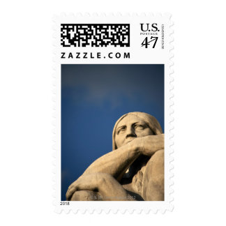 Statue with Crossing Arms Postage