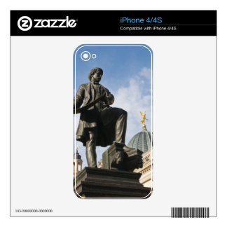 Statue with Glass dome on Kunstverein building iPhone 4S Decals