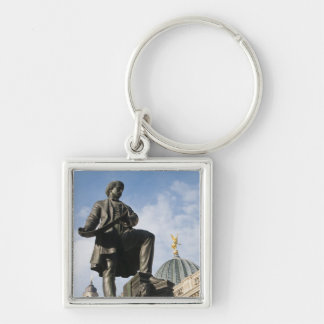Statue with Glass dome on Kunstverein building Keychain