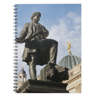 Statue with Glass dome on Kunstverein building Notebook