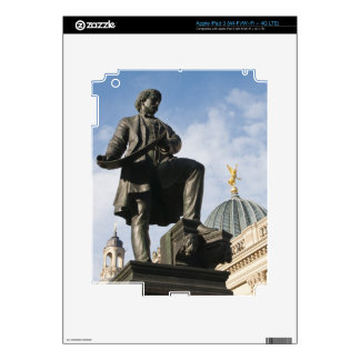 Statue with Glass dome on Kunstverein building iPad 3 Skins