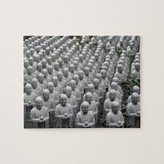 statues buddha rows jigsaw puzzle
