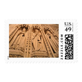 Statues - Canterbury Cathedral Postage Stamp
