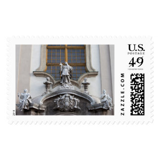 Statues of Faith, Hope and Love Postage