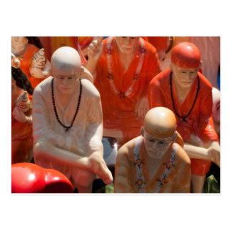 Statues of Sai Baba Post Card
