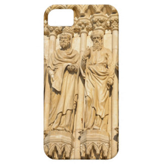 Statues of saints in neogothic style iPhone 5 cases