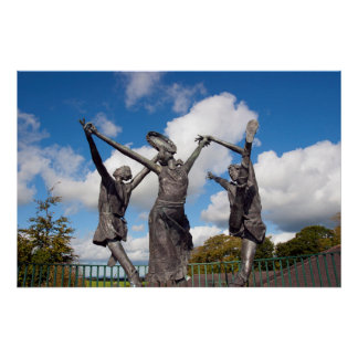 statues of the children of lir posters