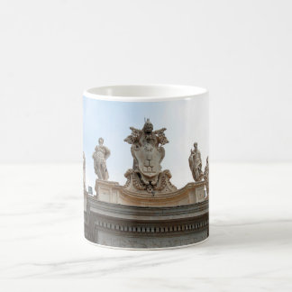 Statues on St Peter's Square in the Vatican City Coffee Mug