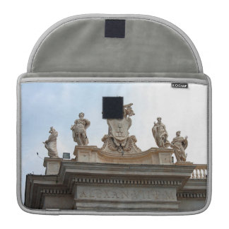 Statues on St Peter's Square in the Vatican City Sleeve For MacBooks