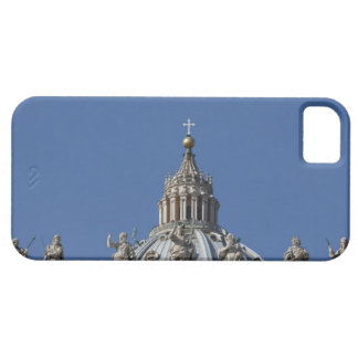 statues on the facade of Saint Peter's basilica iPhone 5 Covers