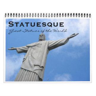 statuesque calendar