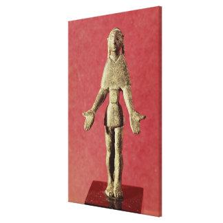 Statuette Canvas Print