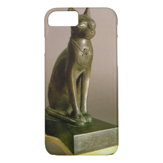 Statuette of a cat representing the goddess Bastet iPhone 8/7 Case