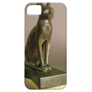 Statuette of a cat representing the goddess Bastet iPhone SE/5/5s Case