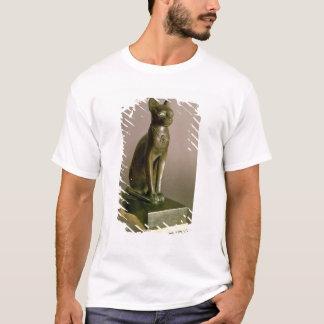Statuette of a cat representing the goddess Bastet T-Shirt