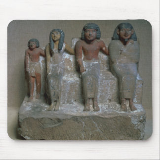 Statuette of a family group (pigment on chalk) mouse pad