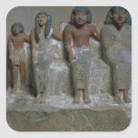Statuette of a family group (pigment on chalk) sticker