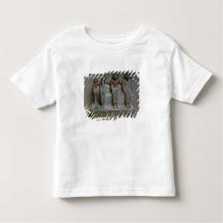 Statuette of a family group (pigment on chalk) tshirt