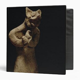 Statuette of a Lion-Headed Demon, Mesopotamia, c.5 Vinyl Binders
