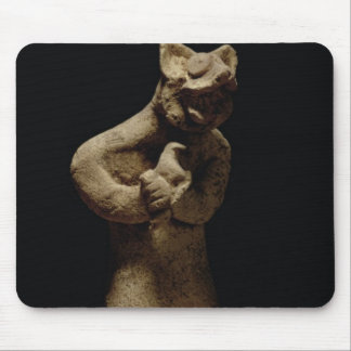 Statuette of a Lion-Headed Demon, Mesopotamia, c.5 Mouse Pad