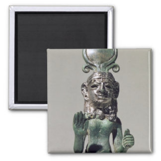 Statuette of a Phoenician goddess from the Phoeni Fridge Magnets