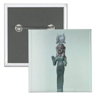 Statuette of a Phoenician goddess Pinback Button