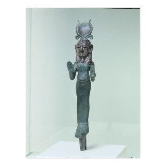 Statuette of a Phoenician goddess Postcard