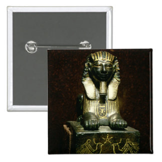 Statuette of a sphinx of King Tuthmosis III, New K Pinback Button