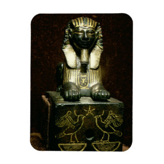 Statuette of a sphinx of King Tuthmosis III, New K Rectangular Photo Magnet