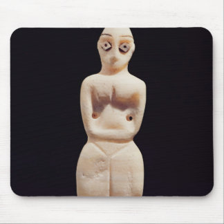 Statuette of a woman, early 4th millennium BC Mouse Pad